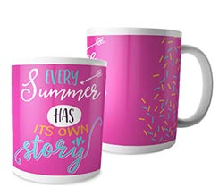 Tazza panoramica Summer story