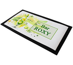 Bar mat personalizzato Green Cocktail