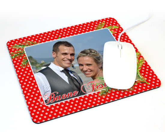 Tappetino mouse bacche natalizie for Tappetino mouse fai da te
