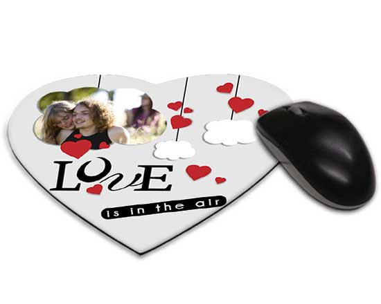 Tappetino mouse cuore lovely cloud for Tappetino mouse fai da te