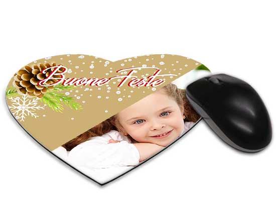 Tappetino mouse cuore pigne natalizie for Tappetino mouse fai da te
