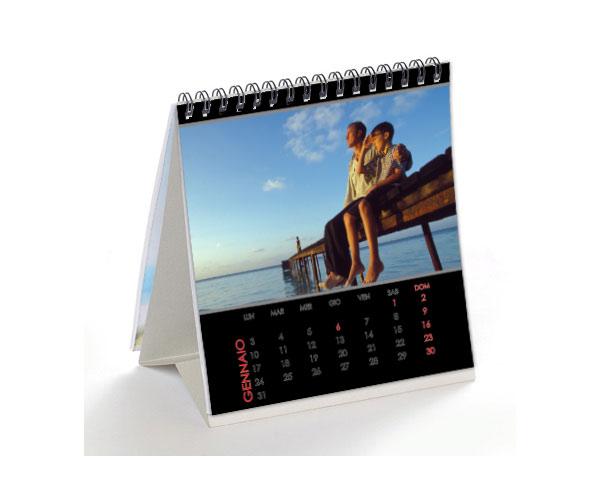 Foto calendari da tavolo calendari con foto personalizzati - Calendari da tavolo con foto ...