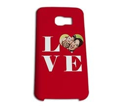 Cover Galaxy S6 Edge 3D Big Love