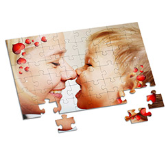 Puzzle A4 Love words