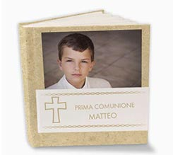 Album Con Tasche 26x30 White Cross