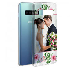 Cover trasparente Galaxy S10 Wedding Flowers