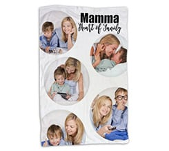 Coperta 100x150 Heart of family
