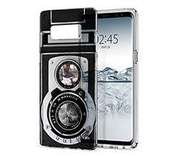 Cover Trasparente Galaxy Note 8 Camera