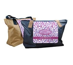 Borsa fashion Maculato rosa