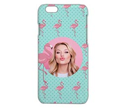 Cover iPhone 6 3D Fenicotteri rosa