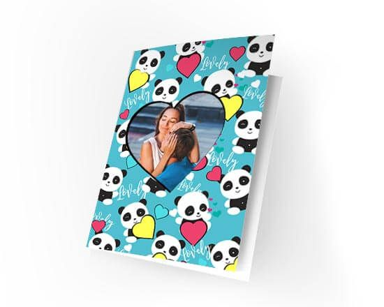 Cards Lovely panda