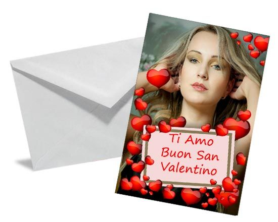 Grafica with love su cartolina