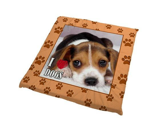 Cuscino per cani I love dog