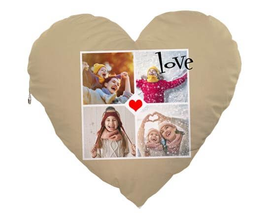 Cuscino Cuore Elite Love 4 Riquadri