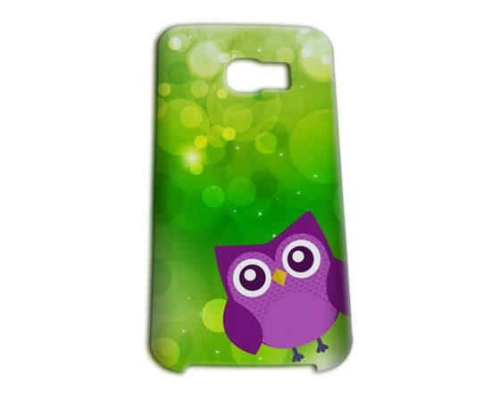 Cover Samsung S6 Edge 3D con gufetto