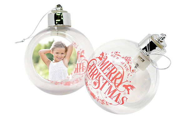 Palline di Natale con led luminoso