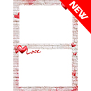 Love wall -  Calendario su arazzo A3