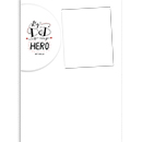 Dad is my hero Calendario A4 Pagina Singola
