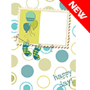 Happy day -  Calendario su arazzo A3