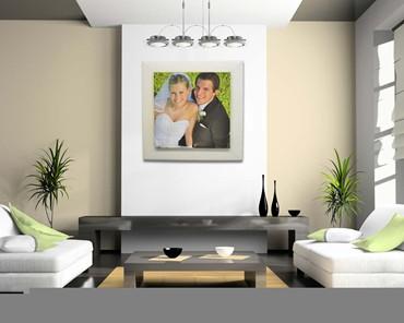 Foto di nozze stampate su tela for Stampe su tela moderne