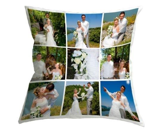 Cuscino collage personalizzato