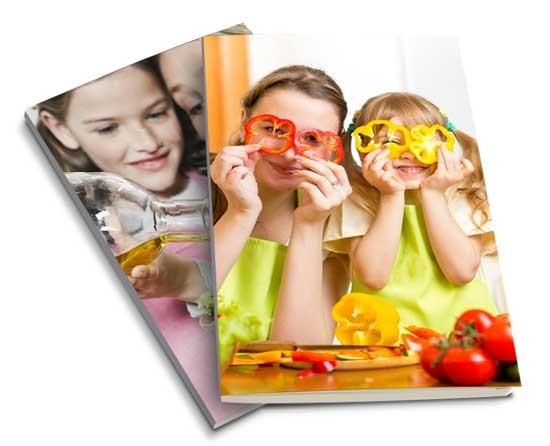 Ricettario cucina con foto