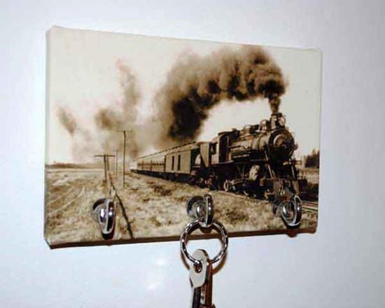 Portachiavi da parete personalizzato con foto