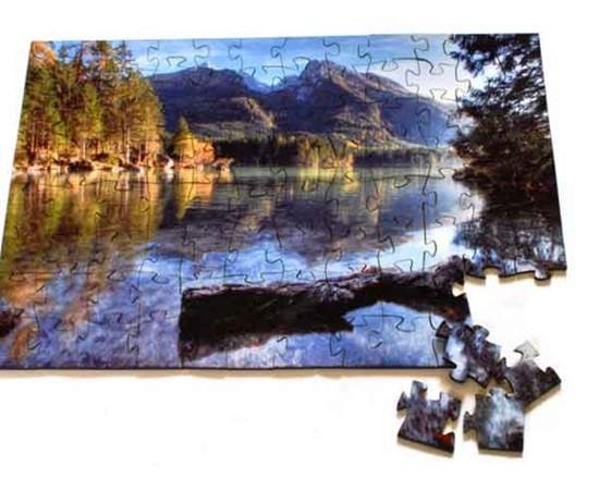 puzzle in legno idea regalo per Natale