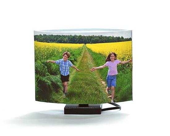 lampada con foto