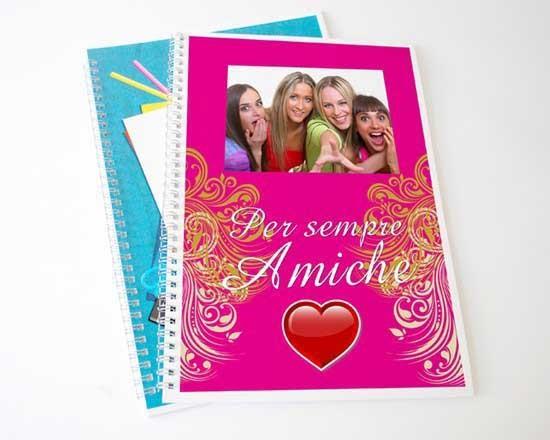 quaderni personalizzati per la scuola