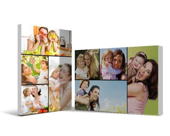 stampa su Tela collage personalizzata con foto