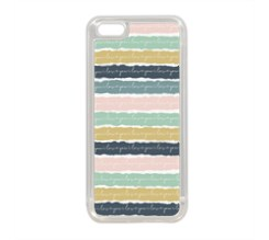 Cover Silicone iPhone 5C Romantic bands