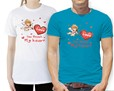 T-shirt colorate disponibili in diverse taglie e colori