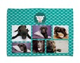 Coperta per cani con grafica collage