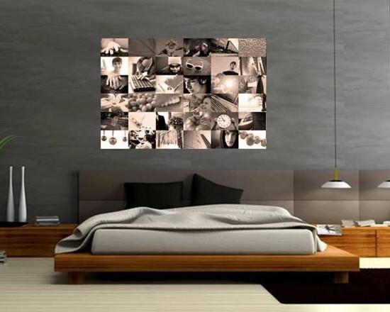 Stampe poster collage for Arredare con fotografie