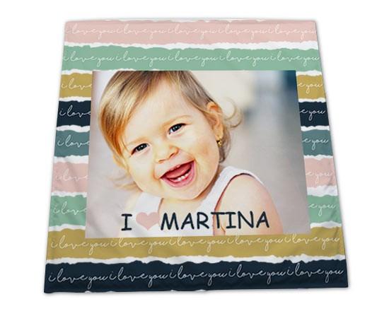 Tappeti Colorati Per Bambini : Tappeto per bambini fasce colorate fotoregali.com