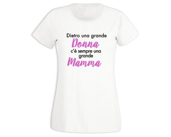 buy online a7e3a 82c26 T-shirt donna in cotone Donna e mamma - Fotoregali.com