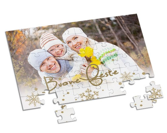 Puzzle A4 White Christmas