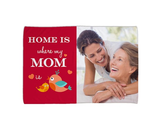 Coperta 150x100 Home is mom