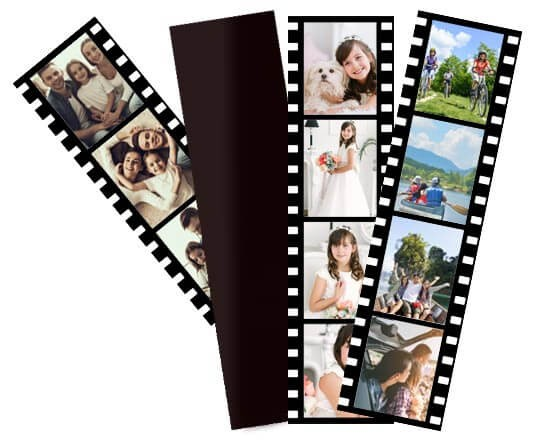 Photostrips Magnetiche con 6 photostrips diverse