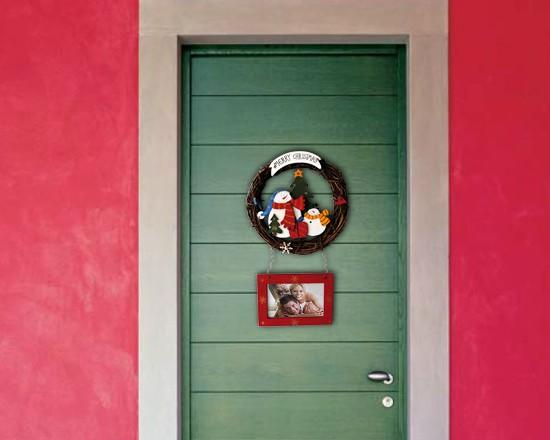 Ghirlanda natalizia per porta - Decorazione natalizia per porta ...
