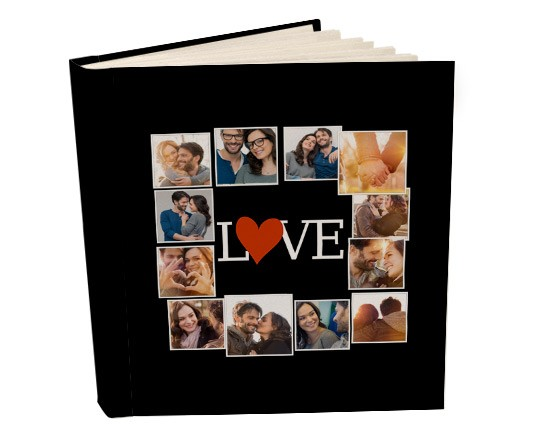 Album 26x30 con tasche Lovely collage