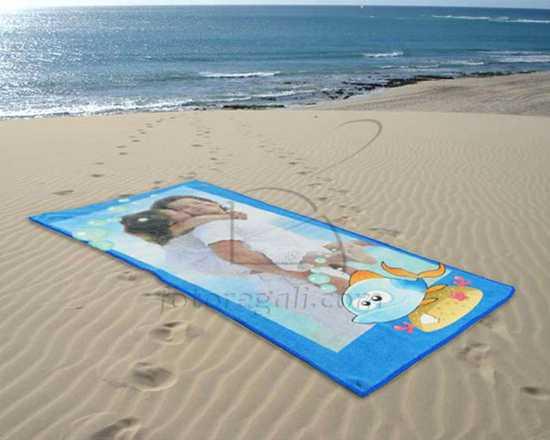 Telo mare microfibra personalizzato for Disegni da camera da spiaggia