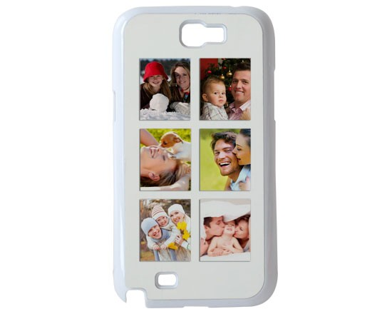 Cover Galaxy Note 2 con 6 riquadri per le tue foto