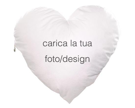 388e92ae9a Cuscino a forma di cuore personalizzato con foto e immagini