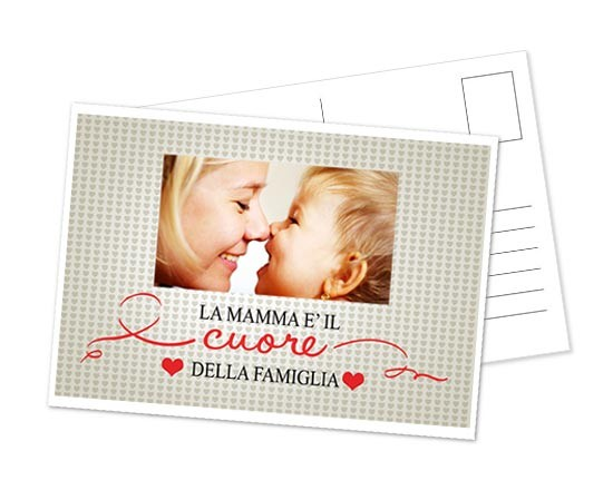 Cartolina Heart of family