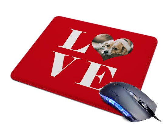 Tappetino Mouse in Pelle Big Love