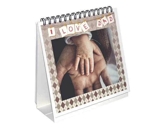 Calendario da tavolo I love Dad