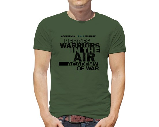 T-shirt Heroes warriors