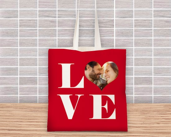 Borsa shopping con grafica